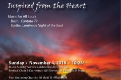 2018-11-4 1st U Music Sunday poster quarter horiz