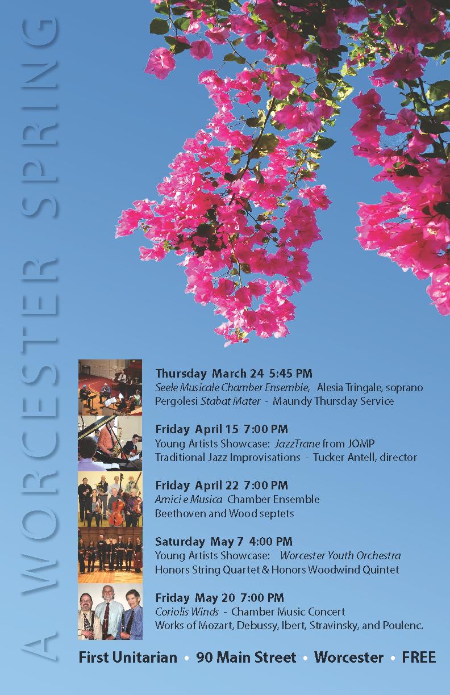 2016 spring concert series poster